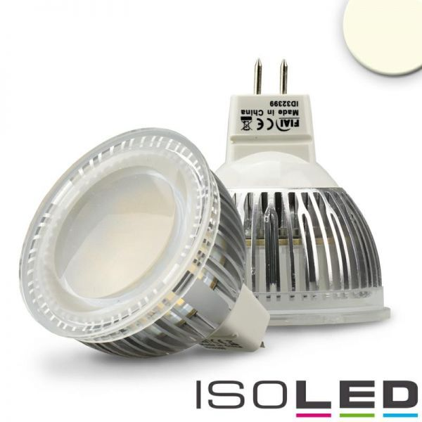 MR16 LED Strahler 6W Glas diffuse, 120°, neutralweiss